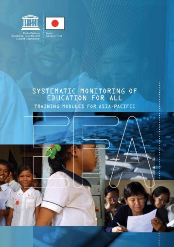 Systematic monitoring of Education for All - Institut de statistique de l ...