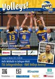 TSG SolingenVolleys – RWE Volleys Bottrop