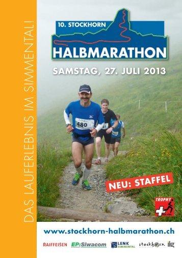 abrufbar - Stockhorn-Halbmarathon