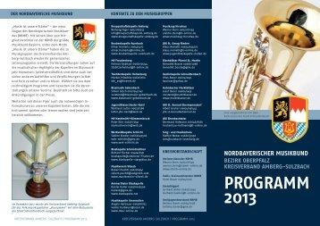 PROGRAMM 2013
