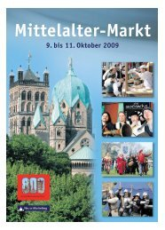 Mittelalter-Markt - Neuss Marketing