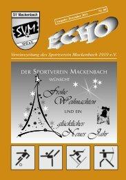 SVM Echo Nr. 80 Dezember 2012.pdf - SV Mackenbach