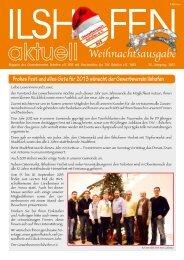 Weihnachtsausgabe 2012 - Gewerbeverein-ilshofen.de