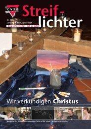 Streiflichter 2-2010 - CVJM Baden
