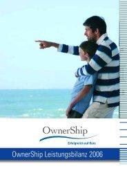 OwnerShip Leistungsbilanz 2006 - Leistungsbilanzportal