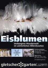 Geheimnisvolle Welt der Eisblumen - Gletschergarten Luzern