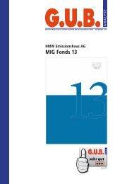 MIG Fonds 13