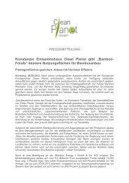 Konstanzer Emissionshaus Clean Planet gibt ... - Bamboo Energy 1