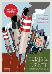 Dec 2012/Jan 2013 - Carbon Trading Magazine