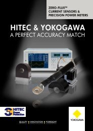 HiTeC & Yokogawa - emitec-industrial.ch