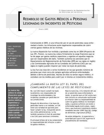 Reembolso de Gastos Médicos a Personas Lesionadas en ...