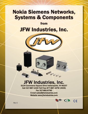 Nokia Siemens Networks, Systems & Components JFW Industries, Inc.