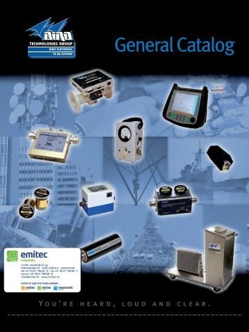 General Catalog - emitec-industrial.ch
