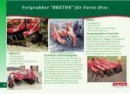 "Vorgrubber ""BRETON"" für Vario-Disc - eversagro.de"