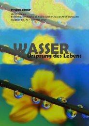Sommer 2007 - Um den Findelberg