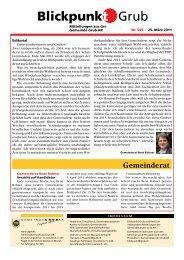Ausgabe März 2011 - Gemeinde Grub