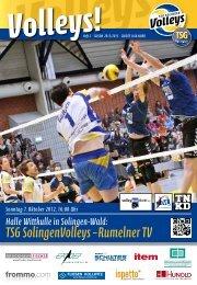 TSG SolingenVolleys – Rumelner TV
