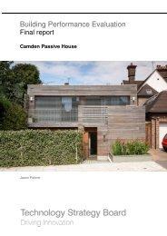 Camden Passive House Jason Palmer Final ... - Bere Architects