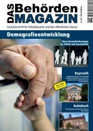 Demografieentwicklung - Gemischter Chor der Polizei Berlin e. V.