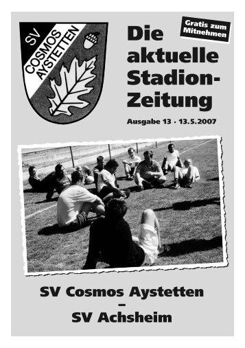Nr.13 - SV Cosmos Aystetten