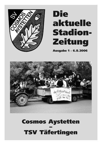 Nr.1 - SV Cosmos Aystetten