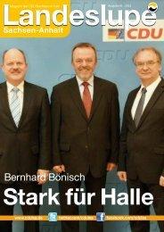 Landeslupe 01-2012 als *.pdf - CDU Landesverband Sachsen Anhalt