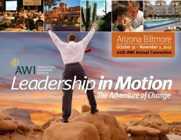 60th AWI Annual Convention - Architectural Woodwork Institute