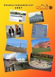 Verwaltungsbericht 2007 - Gemeinde Bisingen