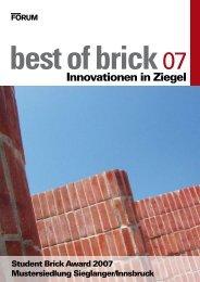 Innovationen in Ziegel - Akademie der bildenden Künste Wien