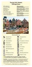 Tourist-Info Idstein Killingerhaus - Charity-Working-Test