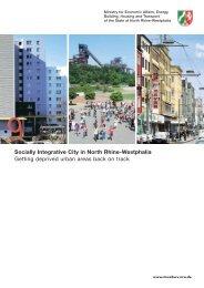 Socially Integrative City in North Rhine-Westphalia Getting ... - Urbact