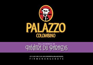 TheAtre du ParaDis - Palazzo Colombino