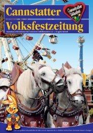Cannstatter Volksfestzeitung 2008 - Cannstatter Volksfestverein