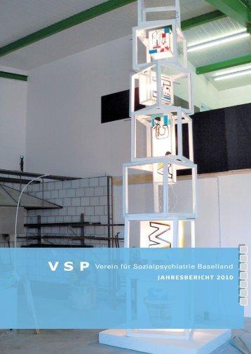 Jahresbericht 2010 - VSP BL
