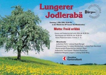 Lungerer Jodlerabä Lungerer Jodlerabä - Jodlerklub Bärgsee