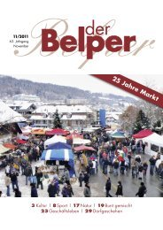 November 2011 - Der Belper