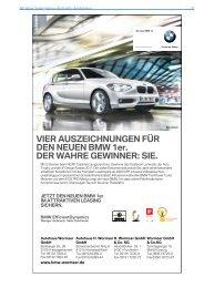 VIER AUSZEICHNUNGEN FÜR DEN NEUEN BMW ... - cebra[•]media