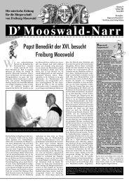 Lesen Sie dies und mehr in der Narrenzeitung - Bürgerverein ...