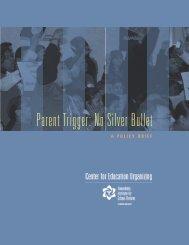 Parent Trigger: No Silver Bullet