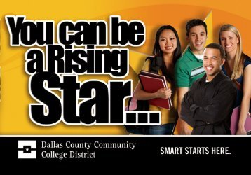 Rising Star brochure - Dallas County Community College District