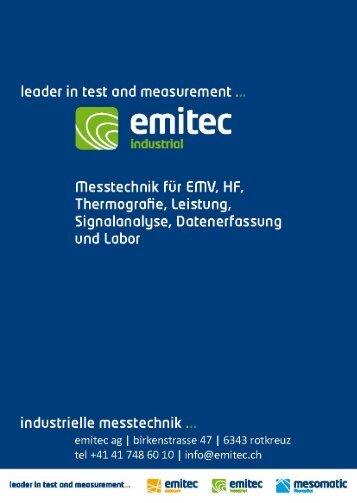 Emitec Produkt Katalog - emitec-industrial.ch