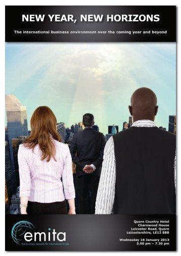 emita - new year new horizons - East Midlands International Trade ...