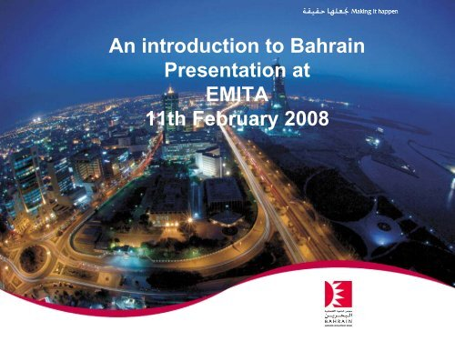 Robert Edge Bahrain Presentation - Emita