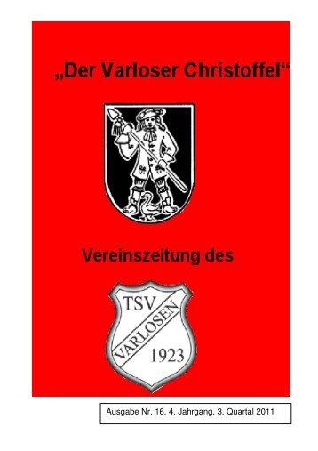 Vereinszeitung Nr. 16, 3. Quartal 2011 - Varloser Crosslauf
