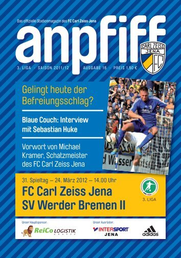 FC Carl Zeiss Jena SV Werder Bremen II