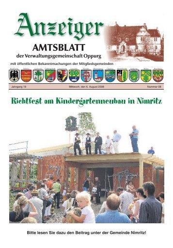 Amtsblatt 08 - VG Oppurg
