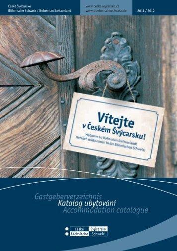 Katalog ubytování ve formátu pdf - České Švýcarsko