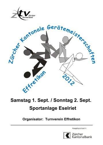 Programmheft - Turnverein Urdorf