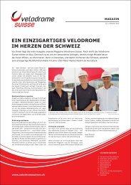 Velodrome Suisse Magazin Nr. 1