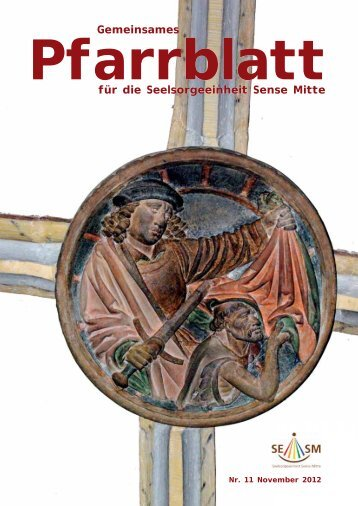 Pfarrblatt November 2012 (pdf 1.3mb)